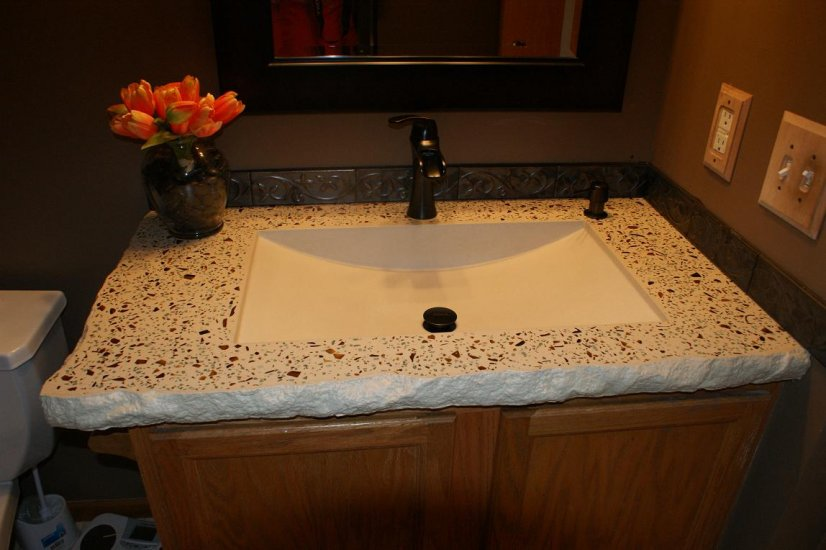 Bathroom Fixtures Twin Cities bathroom concrete vanity sink portfolio north metro twin cities