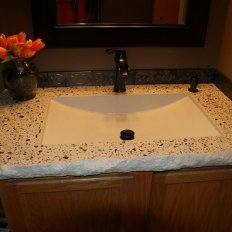Concrete Bathroom Vanity Tops