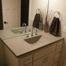 Portfolios Bathroom Vanity Tops North Metro Concrete Countertops