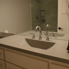 Portfolios Bathroom Vanity Tops North Metro Concrete Countertops - Bathroom vanities twin cities